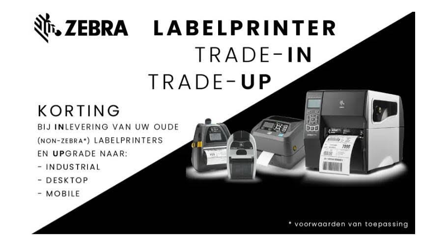 Zebra Labelprinter ZD200 actie