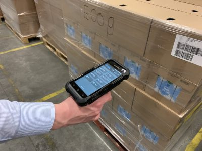 CORAX App on scanner