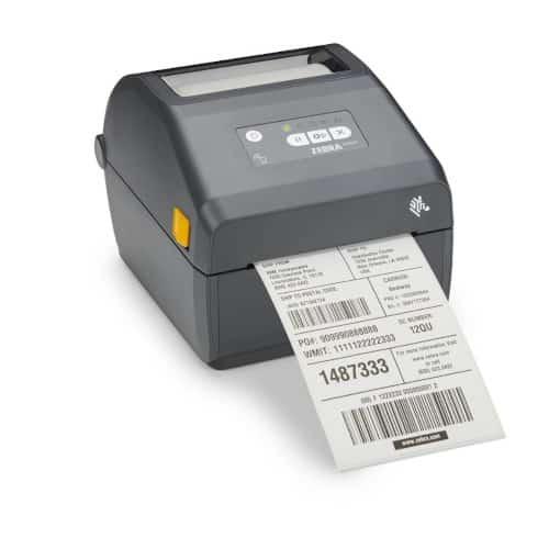 Zebra ZD421 Printer met Label